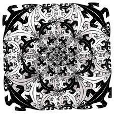 Teselación en geometría Hiperbólica  Escher