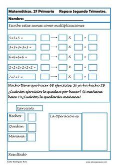 matemáticas segundo primaria 12