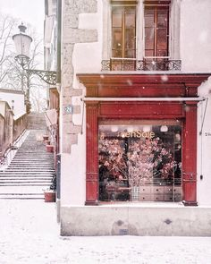 Snowy Zürich, with shopfront of local designer Winter Outfits, Switzerland, Instagram, Adventure, Design, Christmas, Life, Art, Xmas