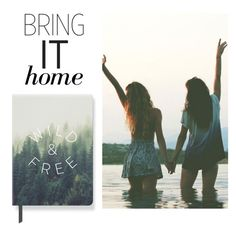 """""""Bring It Home: Fringe Studio 'Wild Free' Paperback Journal"""" by polyvore-editorial ❤ liked on Polyvore featuring interior, interiors, interior design, home, home decor, interior decorating, Fringe and bringithome"""