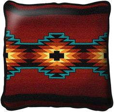 Southwestern Design set of 2~ apache earth southwest pillows | cushion pillow