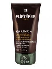 Crème hydratante coiffante sans rinçage spécialement formulée pour les cheveux frisés, crépus ou défrisés.