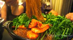 Chef and Sommelier: Prawn Vermicelli