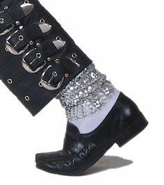 Official Michael Jackson Sequin Sparkle Socks