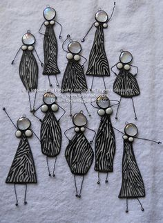 Zebra Boobie Dolls - To order please send me an email to tayama@lantic.net or join my facebook page https://www.facebook.com/groups/TayamaCrafts/