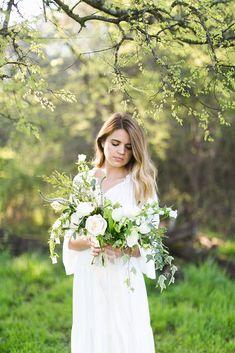 Wedding Bridal Portraits in TN Winter Bridal Bouquets, Cascading Bridal Bouquets, Peony Bouquet Wedding, White Wedding Bouquets, Bridesmaid Bouquet White, Bridal Portraits, Beautiful Models, Color Palettes, Floral Arrangements