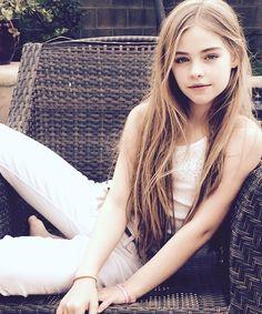 Jade Weber, hermosa modelo infantil