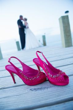 Fuschia Wedding Shoes