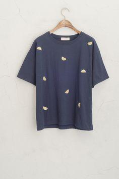 Olive - Lemon Stitch Tee, Navy, £29.00 (http://www.oliveclothing.com/p-oliveunique-20150609-063-navy-lemon-stitch-tee-navy)
