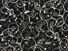 Music To My Ears for Blank Fabrics Musical Instruments on Black Background BTR6775 Half Yard Cuts and Yardages Available by SunValleyFabric on Etsy https://www.etsy.com/listing/457063682/music-to-my-ears-for-blank-fabrics