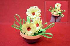 How+To+Do+Paper+Quilling | Niketa's Creative Corner: Miniature flower pots (3D quilling)