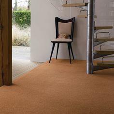 Soft gold interior for a bright year ahead / / / Furniture, Carpet, Interior, Orange Carpet, Yellow Carpet, Home Decor, Gold Interior, Flooring, Stairs