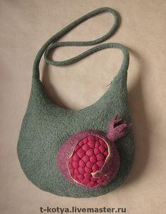 Marvellous felted bag