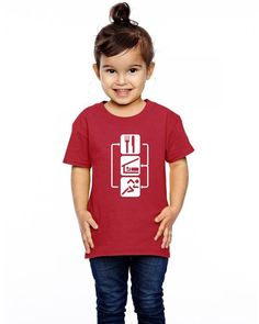 v2 eat sleep run Toddler T-shirt
