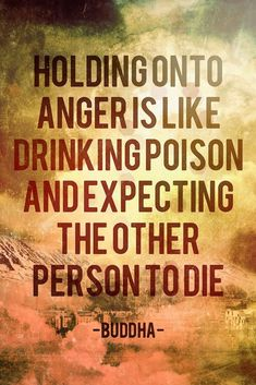 NEW HOLDING ONTO ANGER BUDDHA QUOTE MOTIVATIONAL WALL ART ARTWORK PRINT POSTER