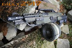 Modified Nerf Guns, Nerf Mod, Water Guns, Dinosaur Drawing, Prop Design, Post Apocalyptic, Fallout, Firearms, Halo