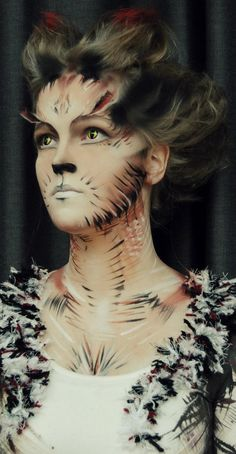 cats makeup by candymakeupartist on DeviantArt