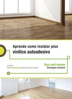 A praticidade que você busca em um piso está no vinílico autoadesivo. Veja como é simples a instalação e você mesmo pode fazer. http://leroy.co/1NZMoep