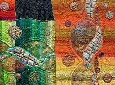 """""""Woven Journey"""" by Claudia Pfeil - detail 1"""