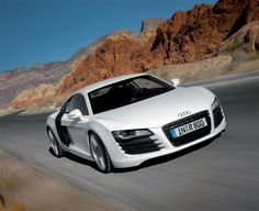 Audi R8, The sports car built by Audi AG'S high performance private subsidiary company, quattro GmbH in Germany.