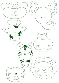 7 Felt Animal Templates Images - Felt Animal Patterns, Felt Animal Patterns Templates and Felt Animals Patterns Free Templates Animal Templates, Applique Templates, Applique Patterns, Applique Designs, Felt Animal Patterns, Stuffed Animal Patterns, Quiet Book Templates, Felt Books, Felt Art