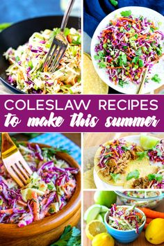 Factors You Need To Give Thought To When Selecting A Saucepan 20 Coleslaw Recipes To Make This Summer - Serve Up Some Deliciousness At Your Next Bbq Or Picnic Coleslaw Recipe Bbq, Homemade Coleslaw, Coleslaw Salad, Easy Summer Salads, Easy Salads, Summer Recipes, Side Dish Recipes, Easy Dinner Recipes, Salads