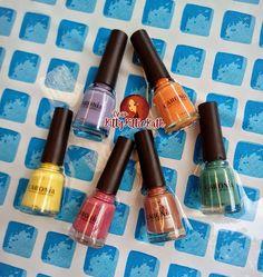 Caronia Shades of Summer Nail Polish Collection   Dear Kitty Kittie Kath- Beauty, Fashion, Lifestyle, and Mommy Blog