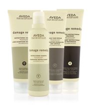 AVEDA damage remedy line. These products are some of my favorites. Chemical free, organic....makes for shinny, strong hair.