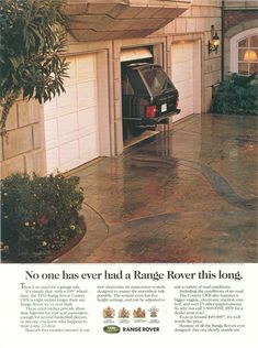No one has ever had a Range Rover this long