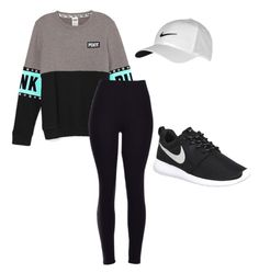 """Untitled #2"" by oliviamarshallcheer on Polyvore featuring NIKE, women's clothing, women's fashion, women, female, woman, misses and juniors"