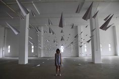 Dawn Ng's Paper Planes | 22 Dreamy Art Installations You Want To Live In