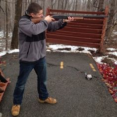 """Looking for some #pinspiration? Learn to get more """"bang for your buck"""" with Tom as a shooting instructor. Find Tom and many more teachers from across the country at Learnivore.com #learnivore #gointeresting"""