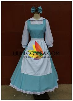 Costume Detail Beauty And Beast Maid Cosplay Costume Includes - Dress, Apron Custom sizing is free and available for this costume by request. No closure change or corset boning option available at the