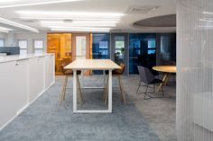 Inlook office and showroom by Sistem Interior Architects Office Interior Design, Office Interiors, Interior Architects, Showroom, Conference Room, Table, Projects, Furniture, Home Decor