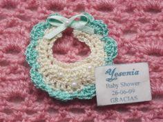 Babero a Crochet, recuerdo o souvenir