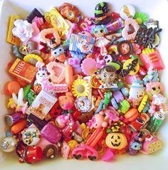 Kawaii Cabochon Mix  Kawaii Cabochon Lot  20 pcs by TheMintBeadery, $6.00