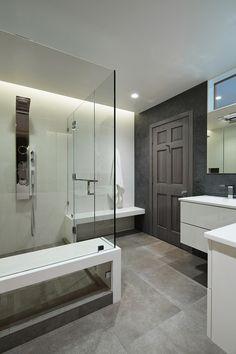 Guest Bathroom in Modern Home in Southern California - Architecture / Interior Design