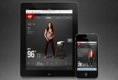 A Club /  Hollister Club Cali by Adam Jesberger, via #Behance #Mobile #Digital #Webdesign
