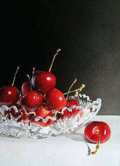 Cherries & Crystal - Jacqueline Gnott
