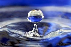 The healing power of water...