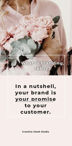 In a nutshell, your brand is your promise to your customer. It tells them what they can expect from you and your products and services. It is a way of distinguishing yourself from the competitors in your own unique way. The emotional and psychological associations that a person makes with your business, product or service.