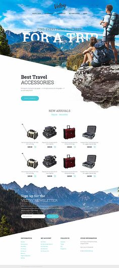 Template 58385 - Veltry Travel Responsive PrestaShop Theme