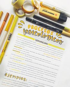 Por fin un nuevo apunte y color amarillooooo de felicidad y alegría (aunque mi semana haya sido lo contrario) 💛 la verdad si les cuento que…