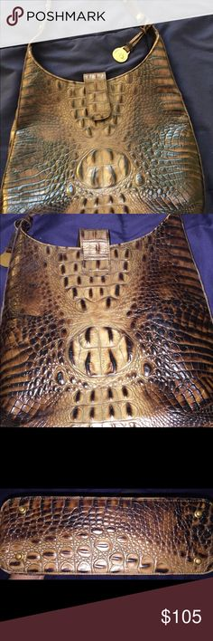 Fab Condition!!!!! Real Leather Brahmin Purse Leather Brahmin Purse!!! In Fab Condition Great Look For The Season Brahmin Bags Crossbody Bags