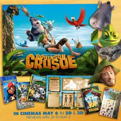 The Brick Castle: Robinson Crusoe Family Movie Bundle And Merchandise Giveaway...