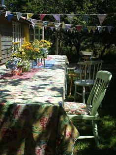 Happy summer days in the garden