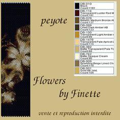 Peyote Stitch Patterns, Beading Patterns Free, Seed Bead Patterns, Weaving Patterns, Beading Tutorials, Free Tutorials, Peyote Bracelet, Peyote Beading, Pearls