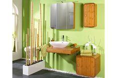 Badezimmermöbel aus Bambusholz - eine sehr ökologische Alternative zu Möbeln aus Holz! Bambus hat viele Vorteile, beispielsweise wächst er schneller als normale Bäume nach. Er ist auch die Quelle der Sauerstoff, die für die Atmung notwendig ist. Bambusmöbel sind sehr haltbar und langlebig, dabei sehen sehr schön und modern aus!  #möbel #holz #einrichtung #badezimmer #badezimmermöbel #bambus #bambusholz #baumaterial #hauseinrichtung #inneneinrichtung #einrichtungstrends