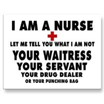I have felt like every single one of those! My first week by myself I had a patient punch at me and I've had a patient's husband grab my shirt-- people are crazy!