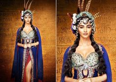 Mohenjo Daro Actress Is Turning Out To Be A True Fashionista – Pooja Hedge Fashion Statements Mohenjo Daro, Fashion Design Sketchbook, Scary Costumes, Costume Makeup, Headgear, Celebrity Style, Wonder Woman, Actresses, Superhero